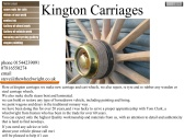 Kington Carriages, wheelwrights in herefordshire.