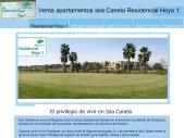 Venta Apartamentos Isla Canela Residencial  Hoyo 1