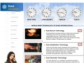 Suxe International Website