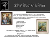 Solana Beach Art & Frame- Cedros Design District