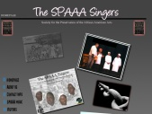 The SPAAA Singers (Society for the Preservation of the African American Arts)