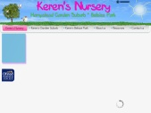 Keren's Nursery A Home Away From Home
