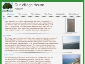 stay@ourvillagehouse.com