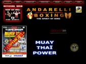 ANDARELLI BOXING  OFFICIAL WEB SITE