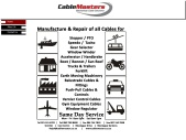 Cable Masters | Mechanical Cable Manufacture and Repairs