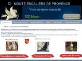 Monte escaliers de Provence