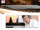 Cyrille Vincent, piano