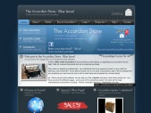 The Accordion Store - Blue Jewel - Piano Accordions for beginners and experienced players