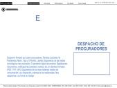 Patricia Cabido. Procuradora de Pontevedra