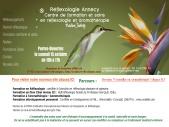A Annecy centre de reflexologie et  formation aux metiers du bien-être. Consultations
