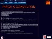 Compagnie théâtrale Piece a Conviction