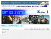 LIMPIEZAS CRIOGENICAS ESPAÑA, Secto1