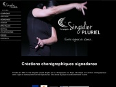 Compagnie Singulier Pluriel - Jos Pujol - Signadanse - Entre signes et danse - Langue des signes et danse contemporaine