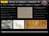 SIL3D, diseño, escaneado e impresión 3D, Servicio de Ingeniería y Laboratorio 3D a  Málaga, con servicio a toda España, en Málaga desde 2012.