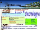 Aakriti Biotechnology a branch of AASS NGO solution for Research/Product/Training for students