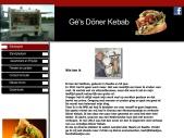 Gé's  Döner KebabOp en Top Kwaliteit