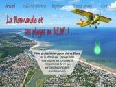 Publivol, Baptêmes ULM en Normandie et vols touristiques - Publicité aérienne