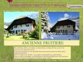 Ancienne fruitière,chambres d'hôtes, près d'Annecy, entre lac et montagnes
