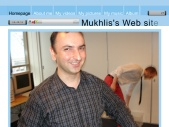 Mukhlis's Web Site