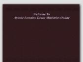 Apostle Lorraine Drake Ministries