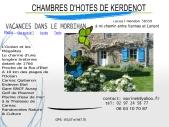 Bretagne chambres d'hôtes de Kerdenot dans le Morbihan