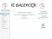 Welkom op de website van FC Balendijk