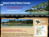 Dolidi Ndano Towale, Resort en Rondreis Sulawesi.