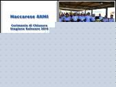 Maccarese ANMI Cerimonia 2014