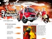 Jóvenes bomberos