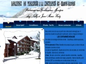 Location vacances à la montagne pied du Mont Blanc