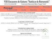 """IX ENCUENTRO DE GUITARRA """"SANLUCAR DE BARRAMEDA"""" 2017"""