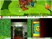 Jardin, décoration, architecture, plantes, hydroponie, intérieur