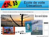Centre Nautique 33 voile
