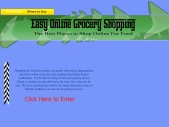Easy Online Grocery Shopping