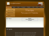 Wientjes Percussion & Websites