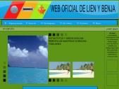 WEB OFICIAL DE LIEN Y BENJA