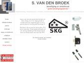 24 uurs slotenservice  S. van den Broek BEVEILIGING, voor uw gratis preventieadvies!!!