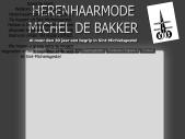 Herenhaarmode Michel de Bakker