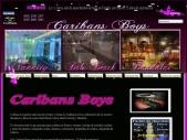 Despedidas de soltera Sevilla Sala Caribans Boys discoteca restaurante espectáculo