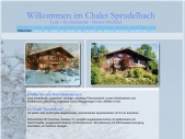 Chalet Sprudelbach - Lenk