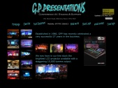 GP Presentations, Conference Production, Events and Support.