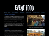Wecome to Event Food, Specialist Event, Festival and Party Food
