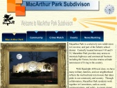 MacArthur Park Subdivision