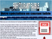 S&H COURANT FAIBLE