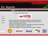 MIGEOTTE-ELECTROL-LUBRIFIANTS- MONT SAINT GUIBERT