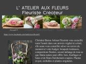 L'atelier aux fleurs, fleuriste créateur à Cahuzac sur vere 81170