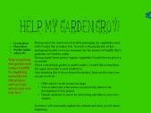 Help My Garden Grow
