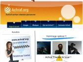 Achraf.org siteweb de Achraf Sarhan