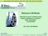 SB Wheels Jaguar Original Equipment Alloy Wheels