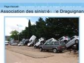 association sinistrés Draguignan